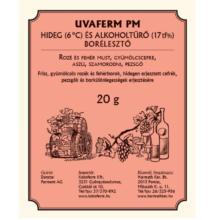 UVAFERM PM hideg- és alkoholtűrő borélesztő 500 g