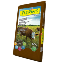 FLORIMO Komposztált marhatrágya 40 l