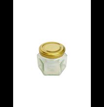 Hatszögletű üveg tetővel 106 ml