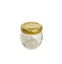 Csupros üveg tetővel 106 ml