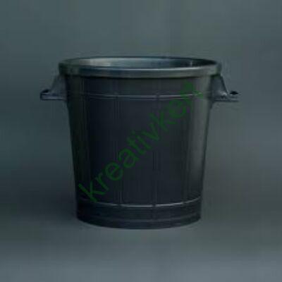 Műanyag dézsa 50 l fekete