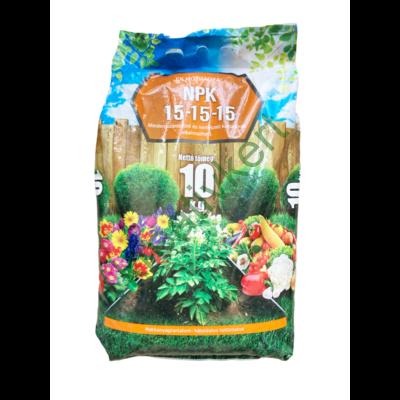Műtrágya NPK 15-15-15 10 kg