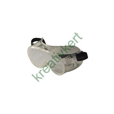 Monolux gumipántos védőszemüveg