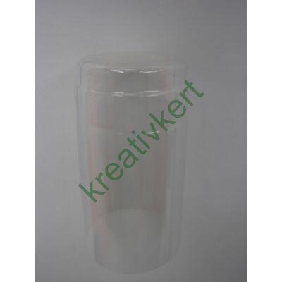Kapszula víztiszta 29 x 60 mm 20 db