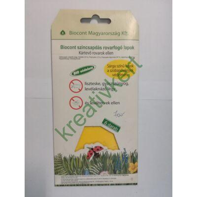 Biocont színcsapdás rovarfogó lapok 6 db