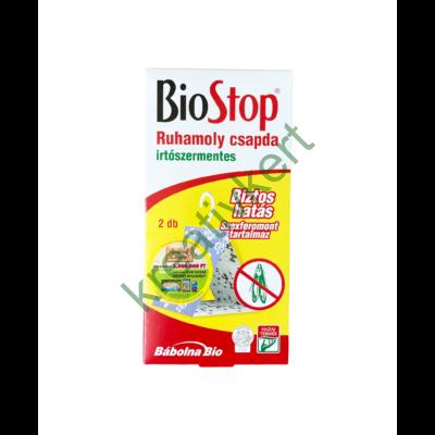 BioStop Ruhamoly csapda 2 db - irtószermentes
