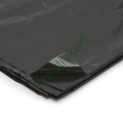 Építési takarófólia, fekete 4,2x3 m