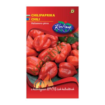 Chilipaprika - Habanero piros 20szem