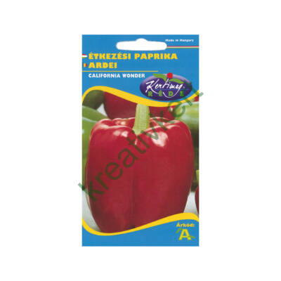 Paprika - Kaliforniai piros 1g