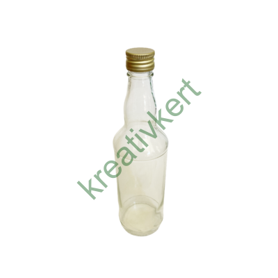 Csavarzáras konyakos üveg 0,5 l