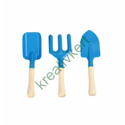 Kerti szerszámkészlet gyerekeknek (kék)